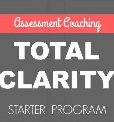 Total Clarity - Assessment Coaching Starter Program