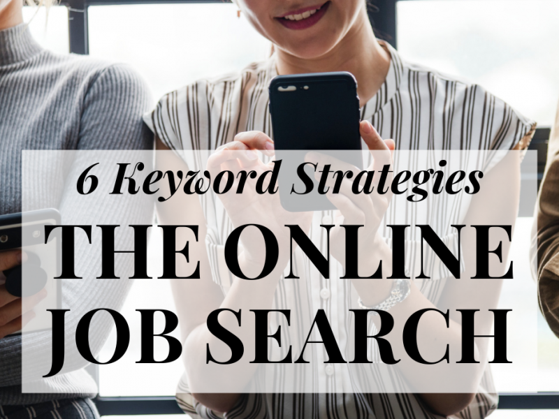 Keyword Strategies Online Job Search NG Career Strategy