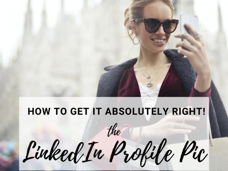 lady-taking-selfie-LinkedIn-photo