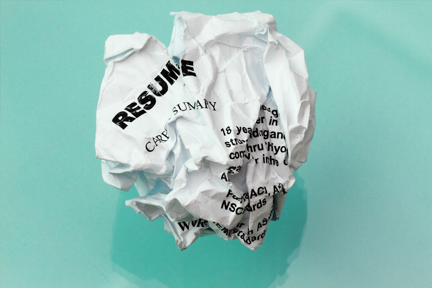 10 Resume Eyesores You'll Want to Avoid