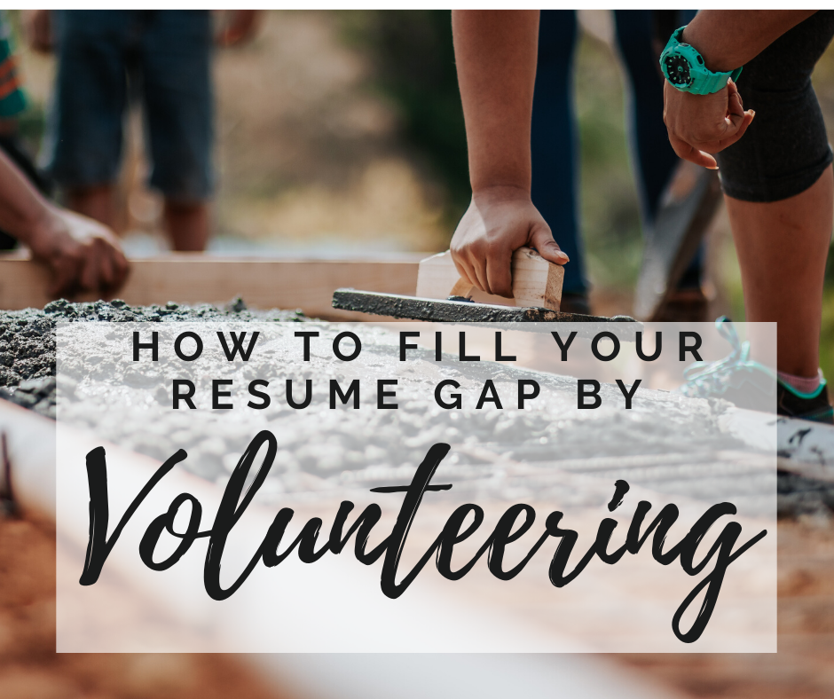 resume-gap-filler-volunteering