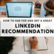 how-to-get-linkedin-recommendations
