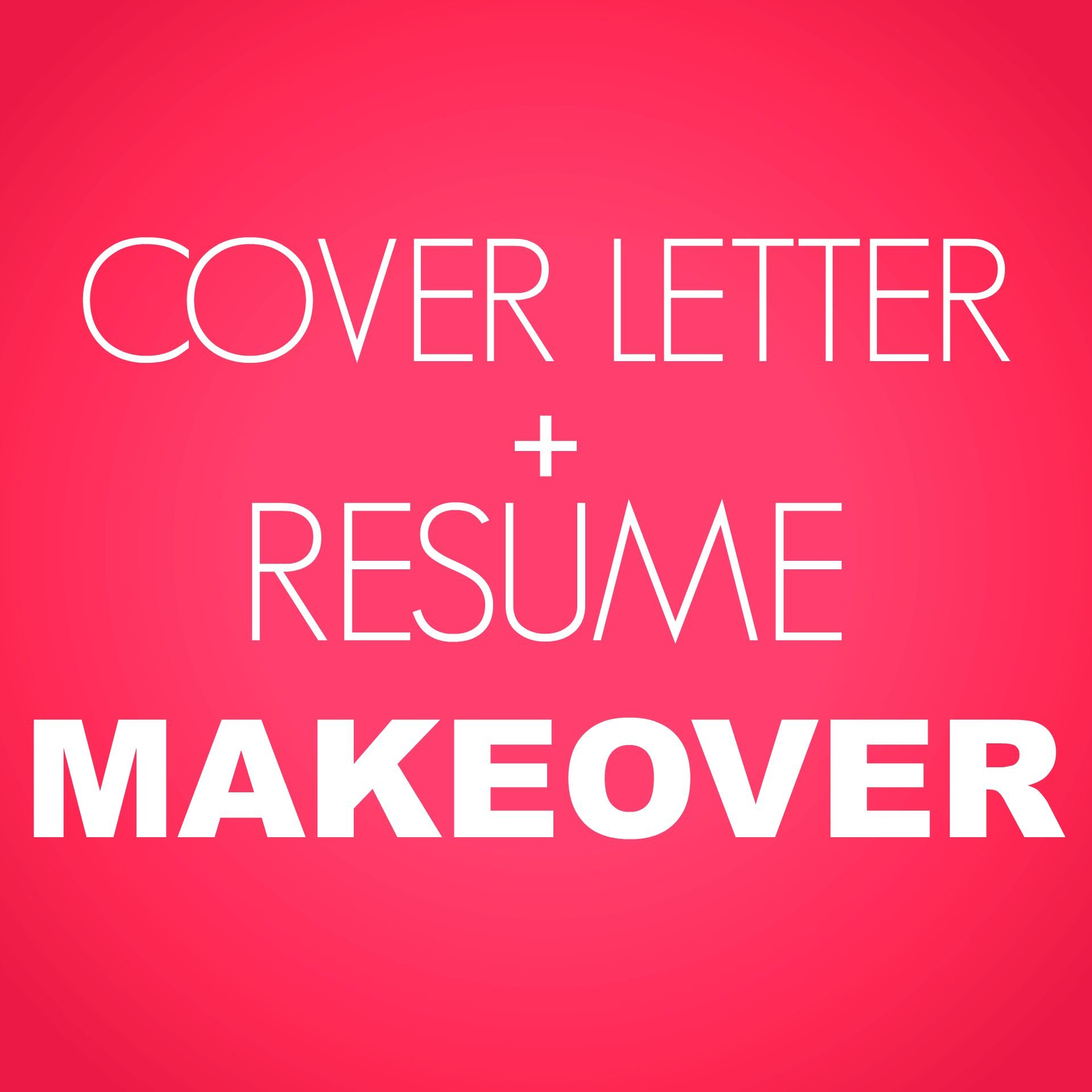 Cover Letter And Resume Makeover Ng Career Strategy