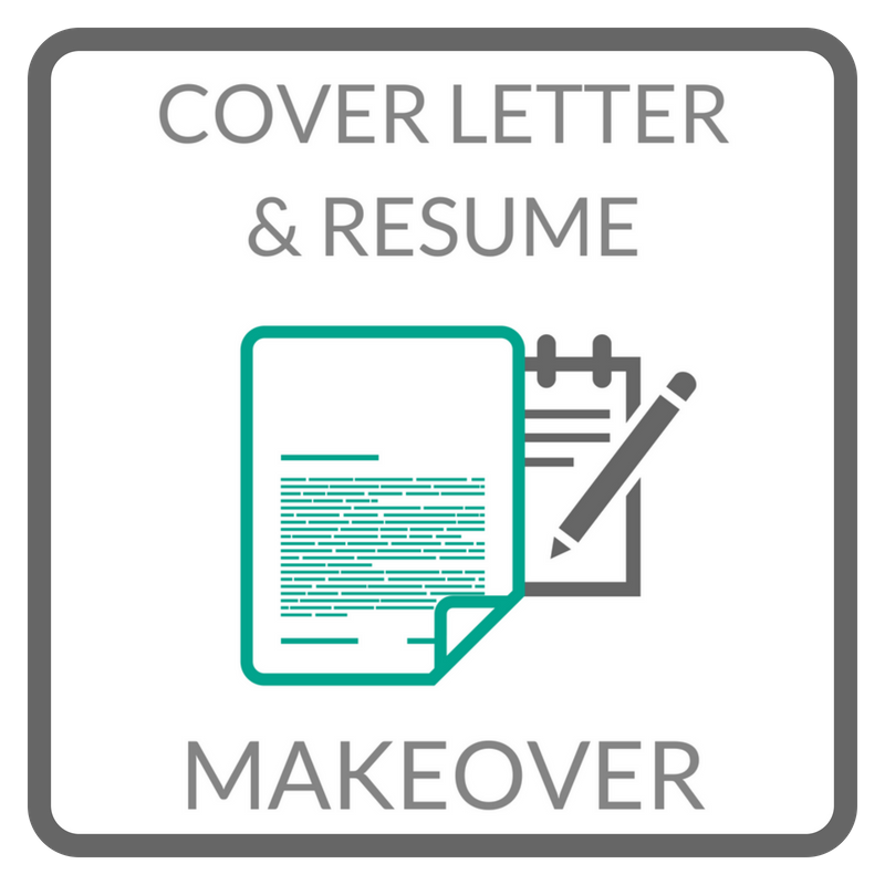 Cover Letter and Resume Makeover