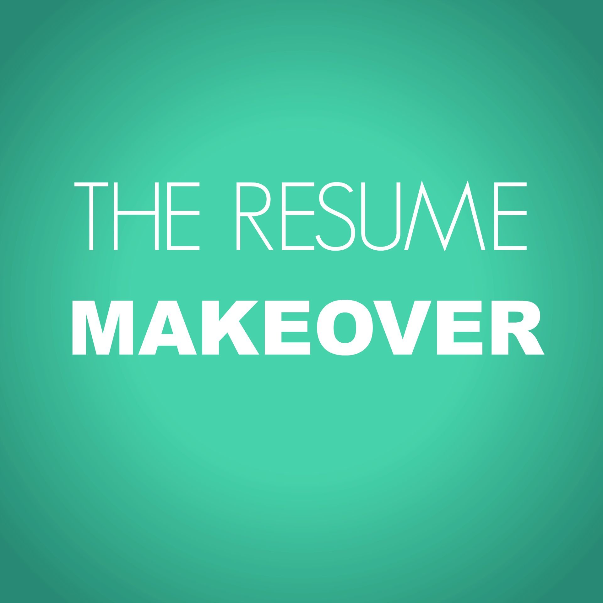 Resume Makeover Ng Career Strategy