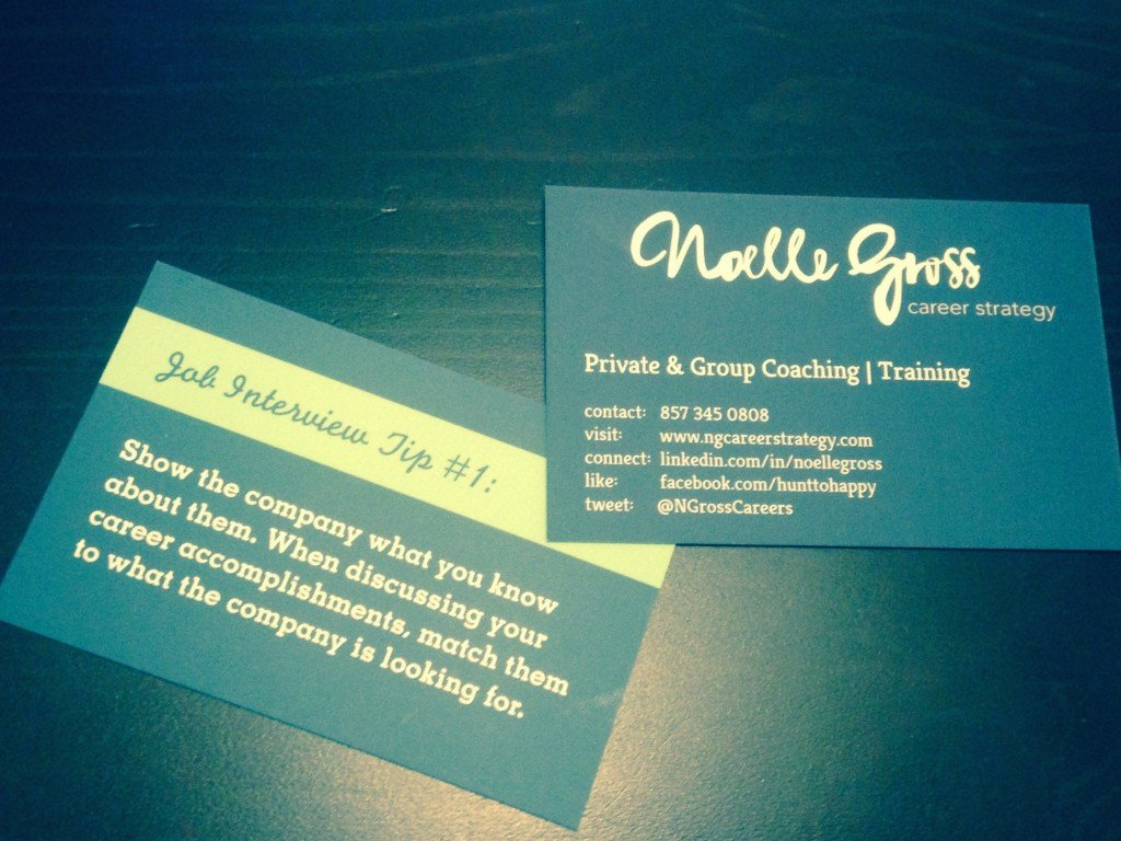 Business Cards - NG Career Strategy