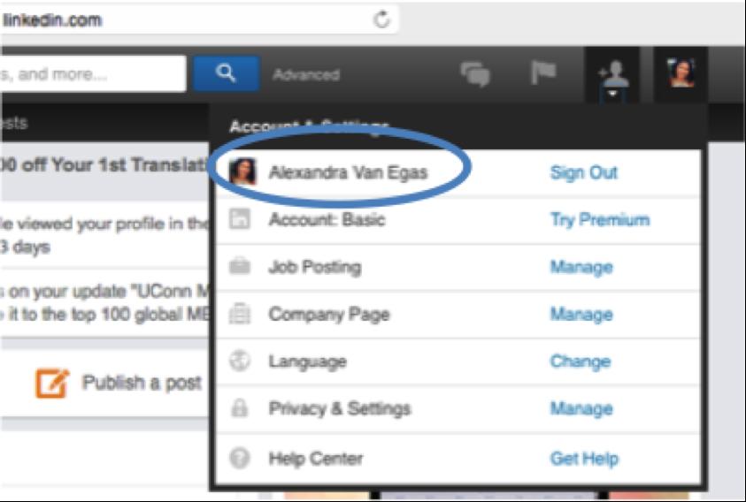 How to Create a Custom Linkedin Profile URL 4