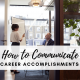 communicate-career-accomplishments