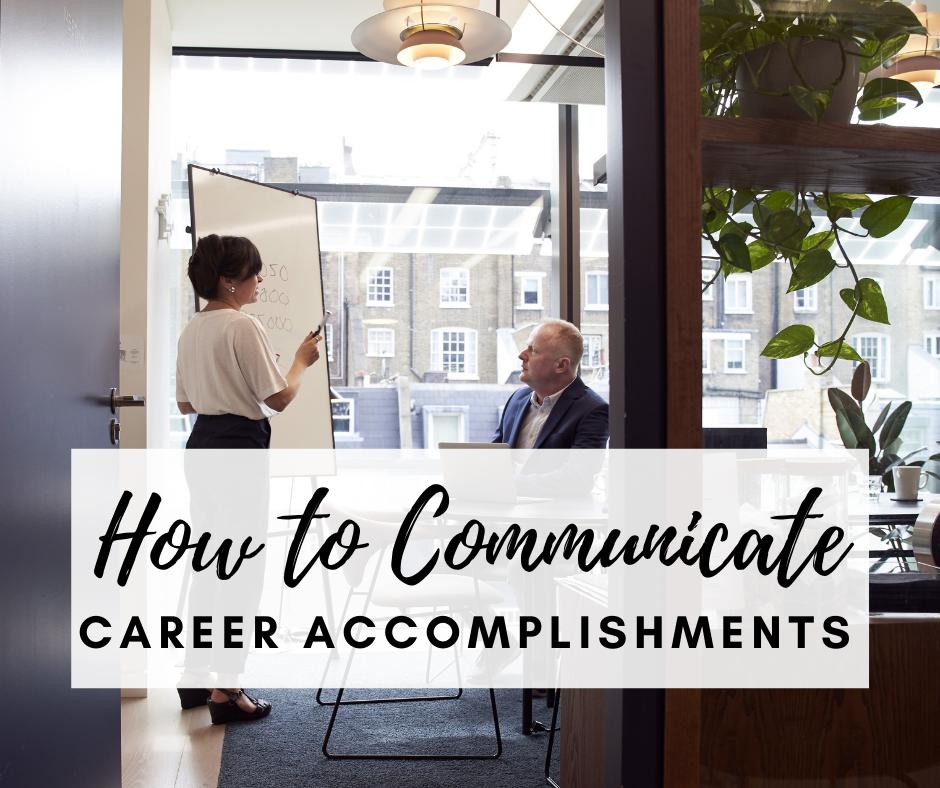 communicate-career-accomplishments