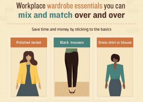 The Professional Woman's Essential Guide to Looking Great (in Every Season) [INFOGRAPHIC]