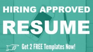 Free Hiring Approved Resume Templates