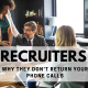 Why recruiters aren't returning your phone calls - NG Career Strategy