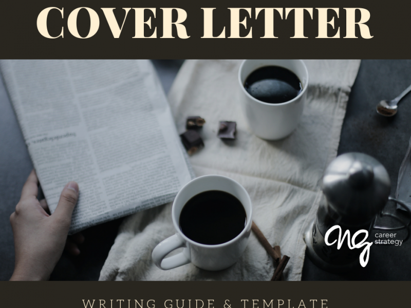 COVER LETTER Guide NG Career Strategy