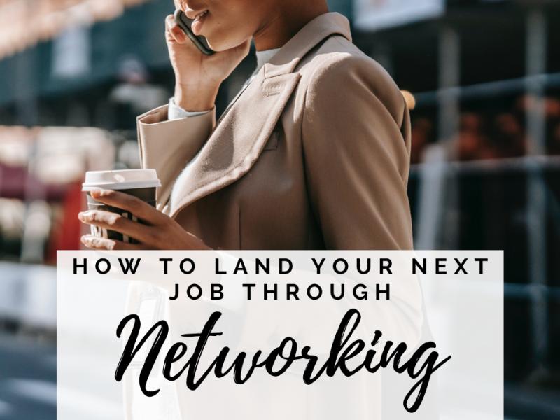 land-job-networking