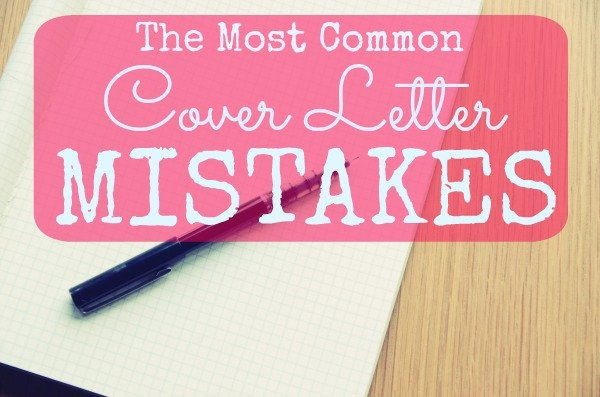 Common Cover Letter Mistakes And How To Avoid Them  Ng Career