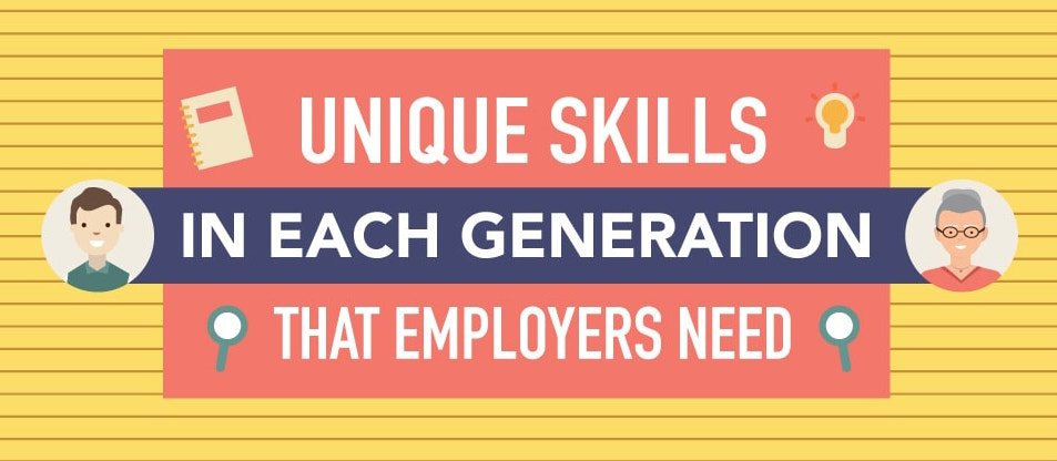 Unique Skills in Each Generation That Employers Need