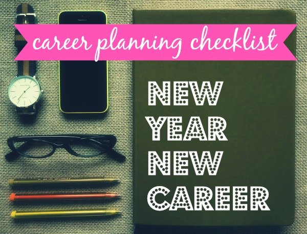 The best career planner checklist
