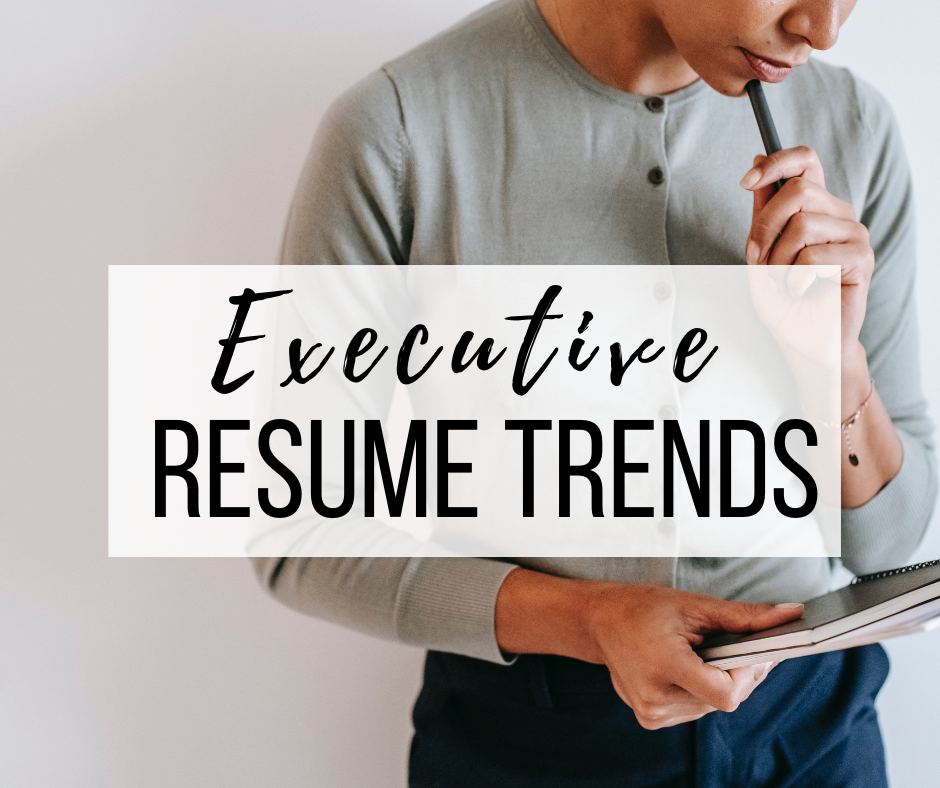 executive-resume-trends