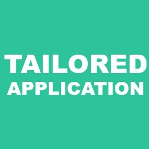Tailored resume and application NG Career Strategy