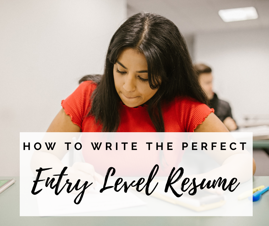 how-to-write-perfect-entry-level-resume