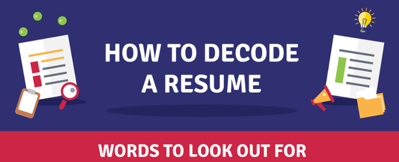 How to Decode a Resume