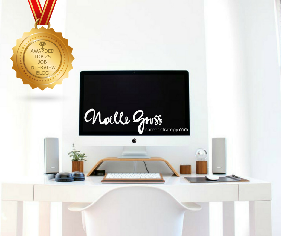 NG Career Strategy Awarded Top 25 Job Interview Blog and Applicant Website!