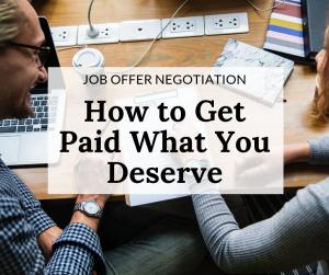 Job Offer Negotiation