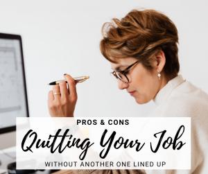 quitting-job-pros-cons