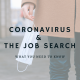 Coronavirus-job-search