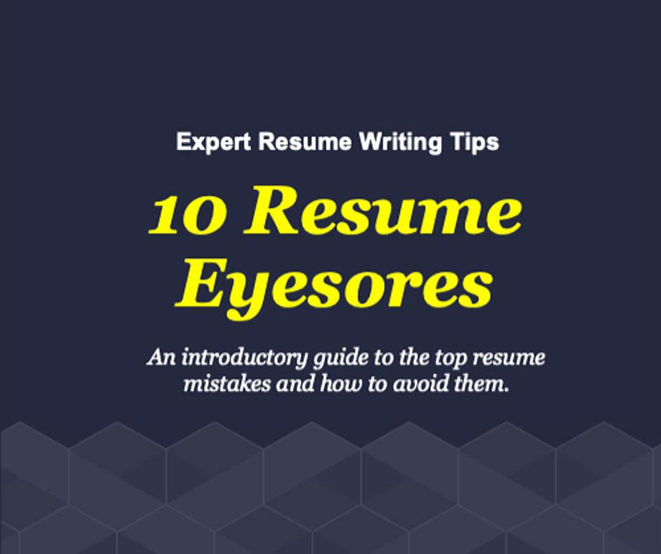 10-resume-eyesores